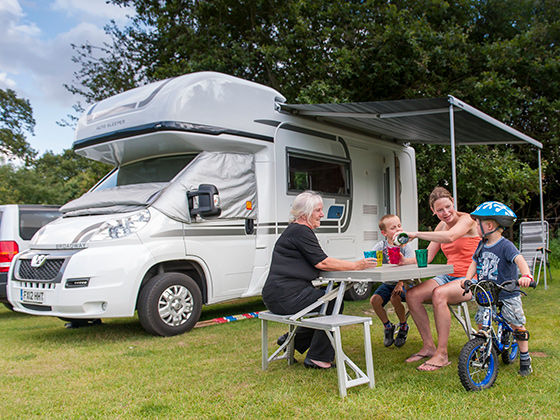 Caravan and Motorhome Club sites getting ready to open